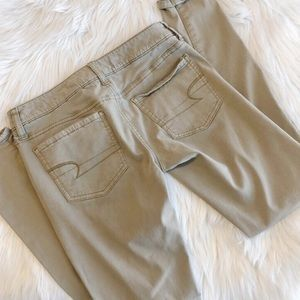 American Eagle Tan Jeggings Size 2 (#3)